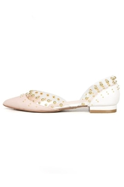 Cecelia New York Neutral Studded Flat - Product Mini Image