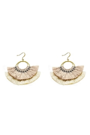 Pannee Jewelry Neutral Tassel Earring - Product Mini Image