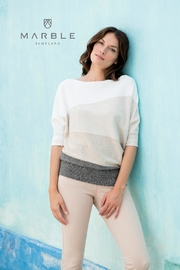 Marble Neutral Toned Sweater - Product Mini Image