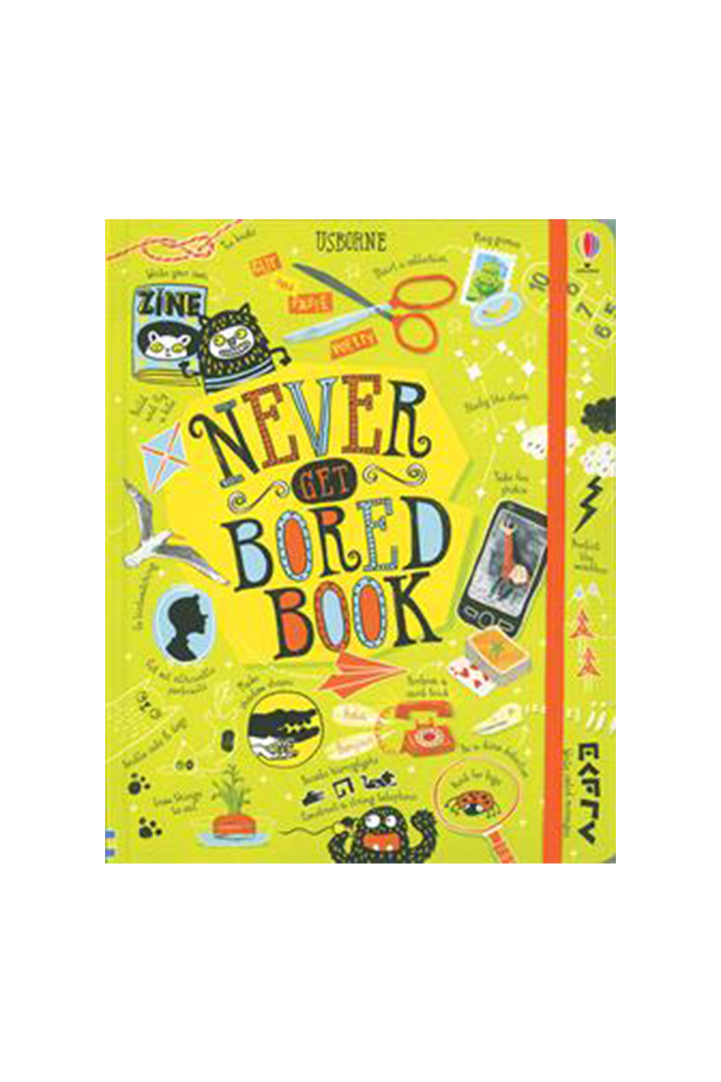 Usborne Never Get Bored Book - Main Image