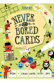 Usborne Never Get Bored Cards - Product Mini Image