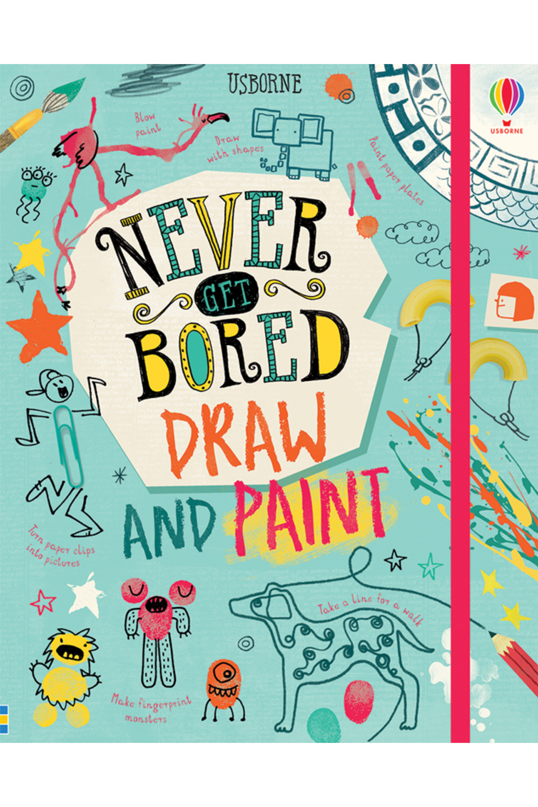 Usborne Never Get Bored Draw And Paint - Main Image