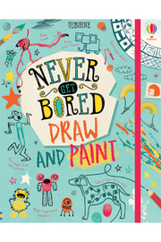Usborne Never Get Bored Draw And Paint - Product Mini Image
