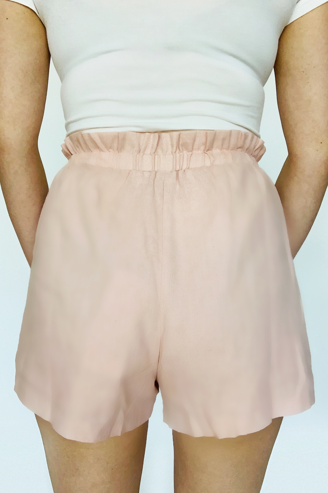 Lush Clothing  Never Too Late Shorts - Front Full Image