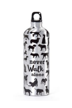 Gift Craft NEVER WALK ALONE WATER BOTTLE - Alternate List Image