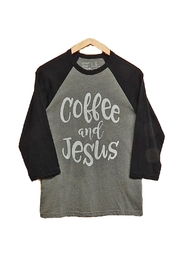 Never Lose Hope Designs Coffee Jesus Top - Product Mini Image