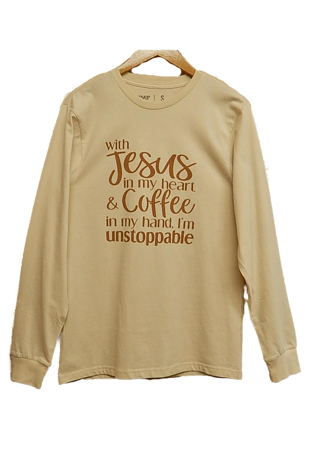 Never Lose Hope Designs Unstoppable Top - Front Cropped Image