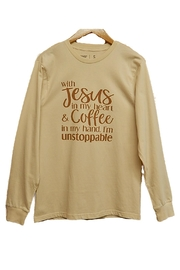 Never Lose Hope Designs Unstoppable Top - Front cropped