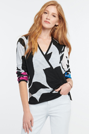 Nic + Zoe New Adventures Sweater - Front cropped