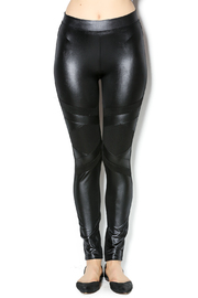 New Kathy Leatherette Leggings - Product Mini Image