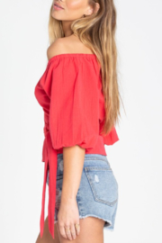 Billabong New Lust Wrap Top - Side cropped