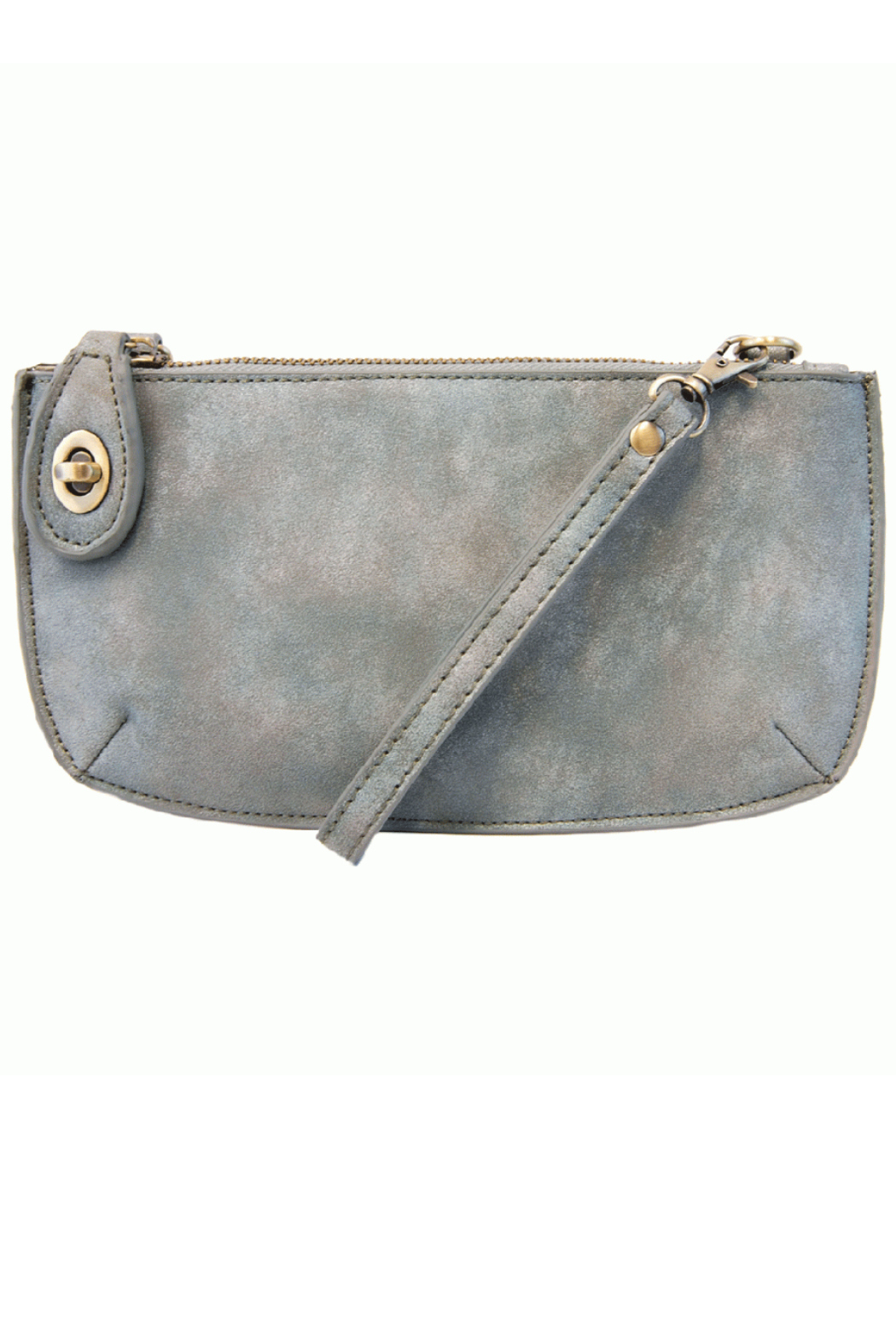 Joy Susan New Lux Crossbody Wristlet Clutch - Front Cropped Image