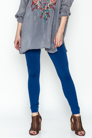 New Mix Fleece Lined Legging - Product Mini Image
