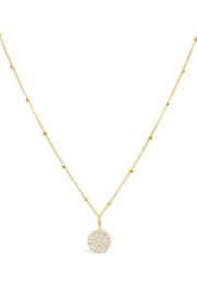 Stia Jewelry New Pave Disc - Product Mini Image