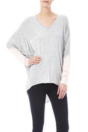 New Prospects Colorblock Dolman Top - Product Mini Image
