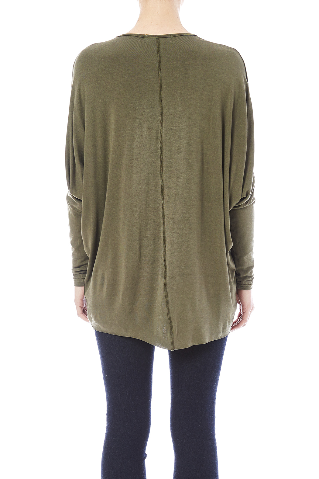 New Prospects Dolman Top - Back Cropped Image