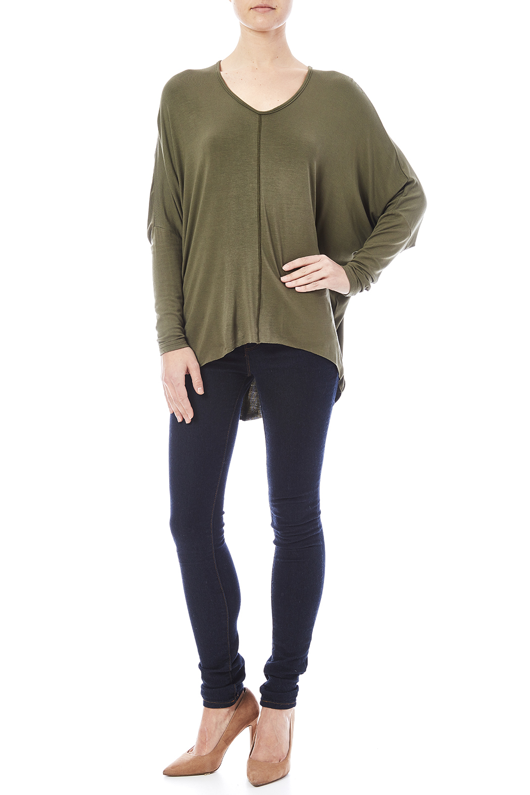 New Prospects Dolman Top - Front Full Image