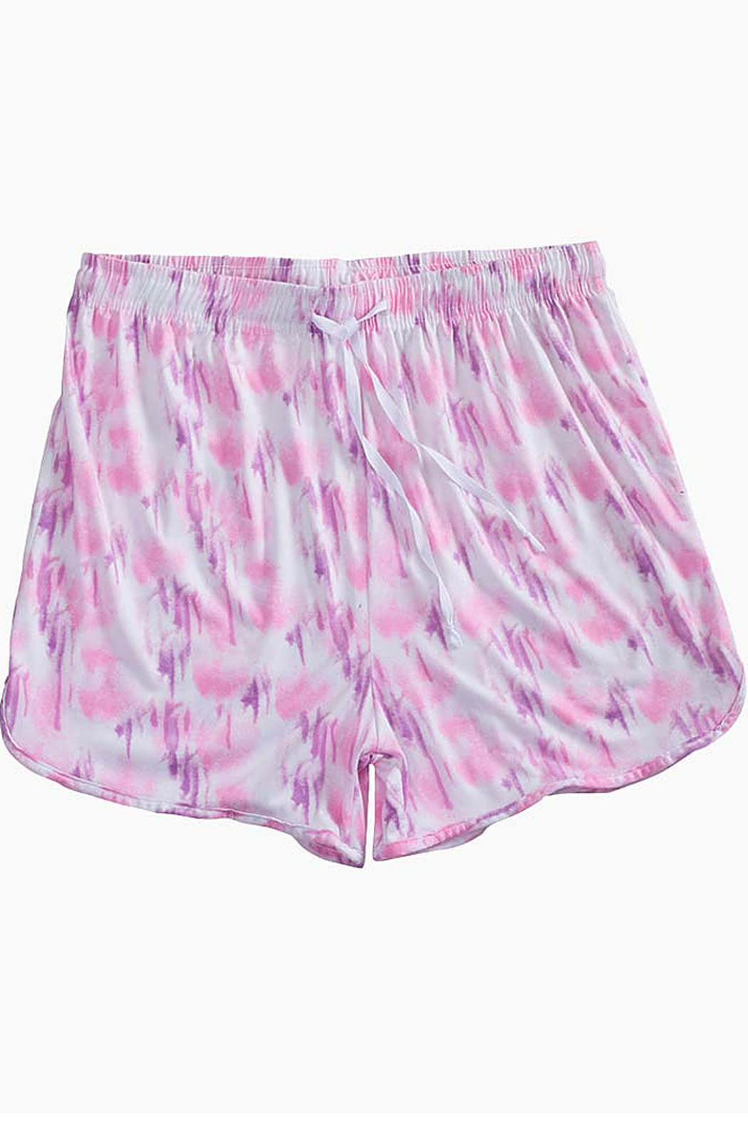 Hello Mello New Spring Mellow Shorts - Front Cropped Image