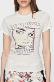 Pam & Gela New-Wave Logo Tee - Front cropped