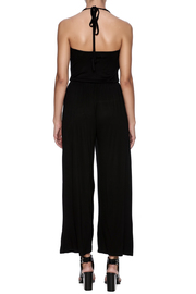 New York Collection Classic Ruffle Jumpsuit - Back cropped