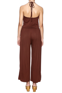 New York Collection Classic Ruffle Jumpsuit - Alternate List Image
