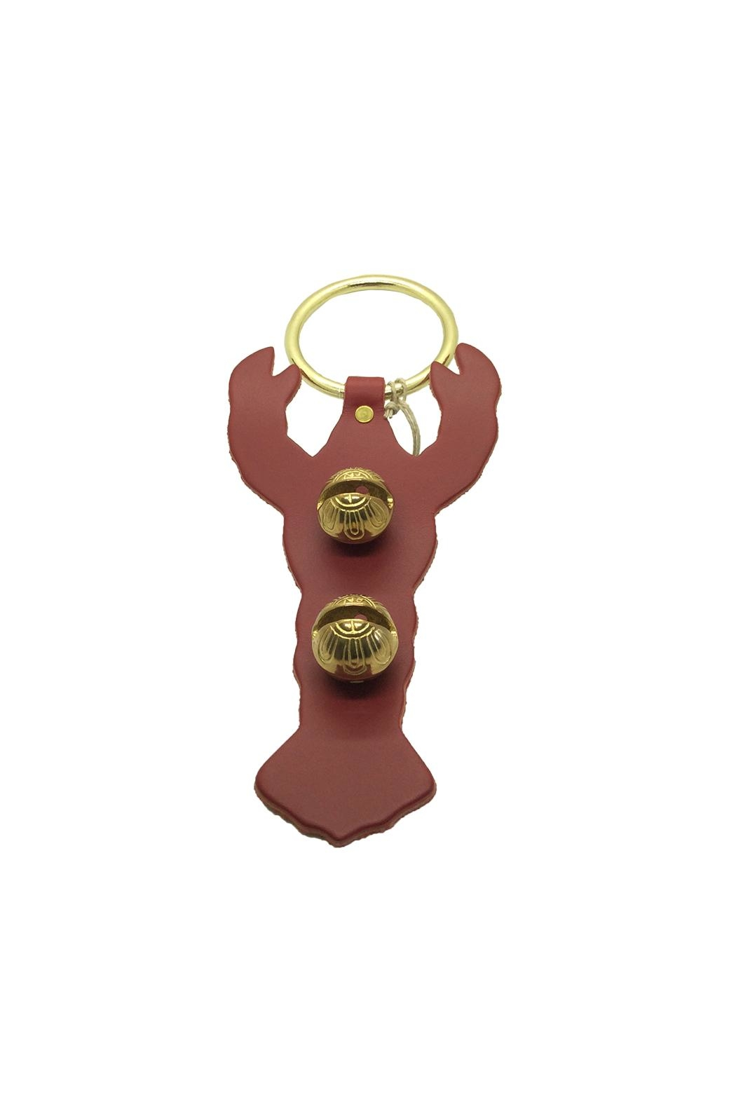 New England Bells Lobster Brass Bells - Front Cropped Image