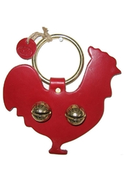 New England Bells Rooster Brass Bells - Product Mini Image
