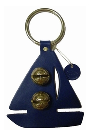New England Bells Sailboat Brass Bells - Product Mini Image