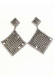 New Fashion Diamond Drape Earrings - Product Mini Image