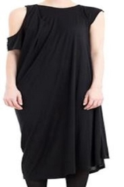 New Form Perspective Convertible Sleeve Dress - Product Mini Image