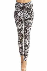 New Mix Animal Print Legging - Product Mini Image