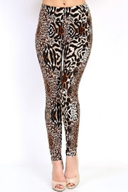 New Mix Animal Print2 Legging - Product Mini Image