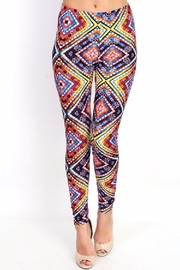 New Mix Colorful Print Legging - Product Mini Image