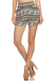 New Mix Cream Elephant Shorts - Product Mini Image