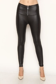 New Mix Faux Leather Legging - Product Mini Image