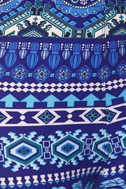 New Mix Floral Aztec Legging - Side cropped