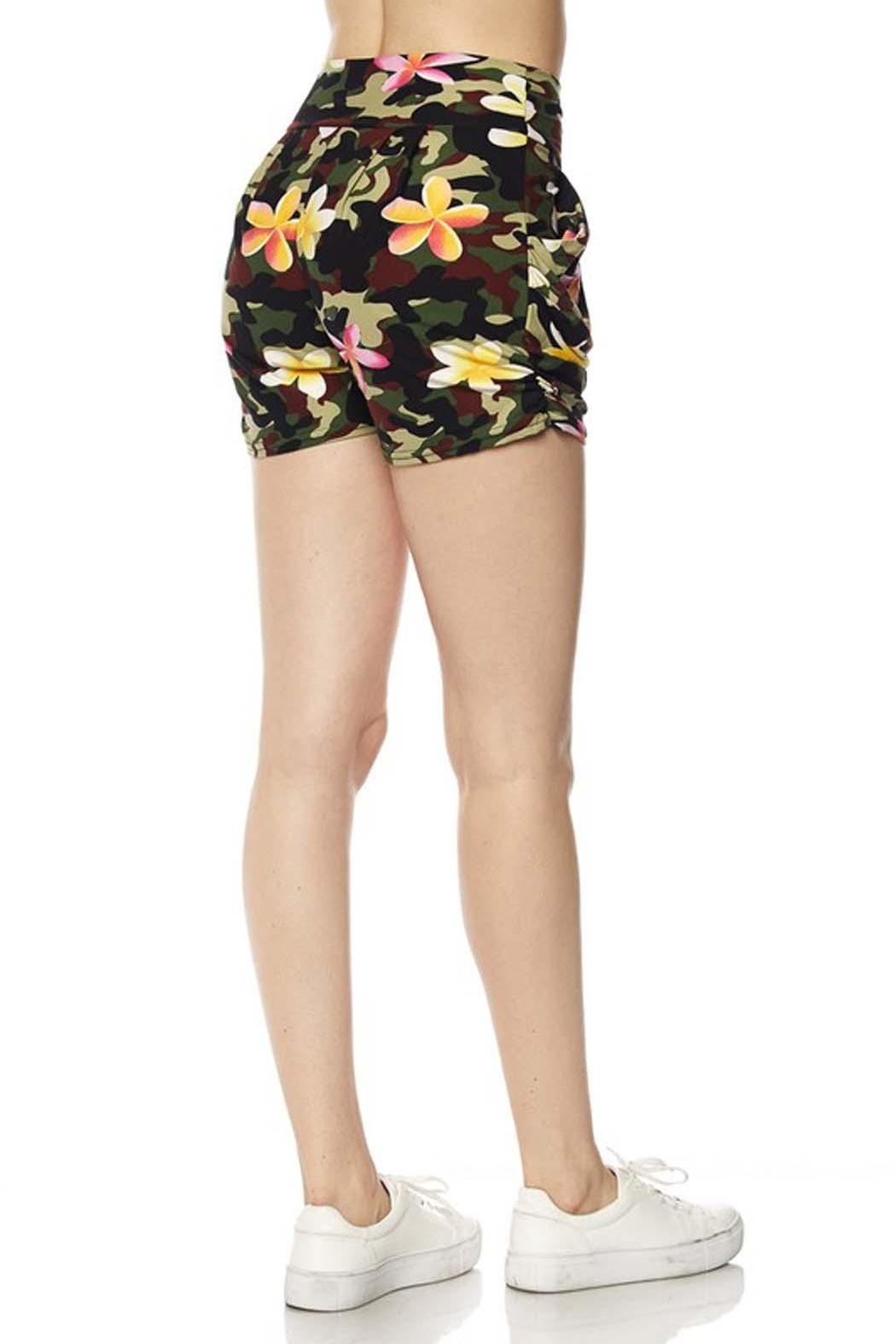 New Mix Floral Camo Short - Front Full Image