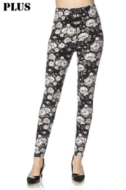 New Mix Floral Print Legging - Front cropped