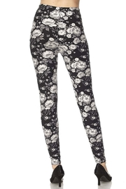 New Mix Floral Print Legging - Front full body