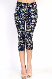 New Mix Floral Print Leggings - Product Mini Image