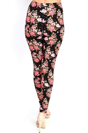 New Mix Flower Print Legging - Side cropped