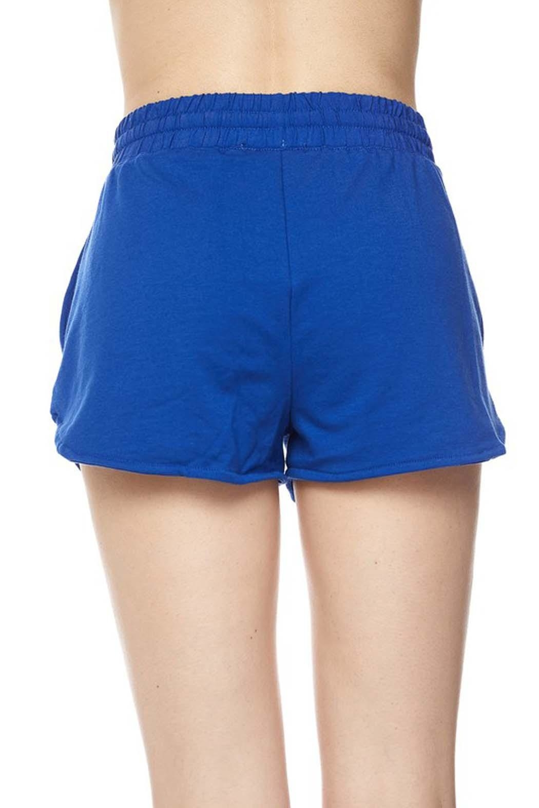 New Mix French Terry-Cloth Short - Front Full Image