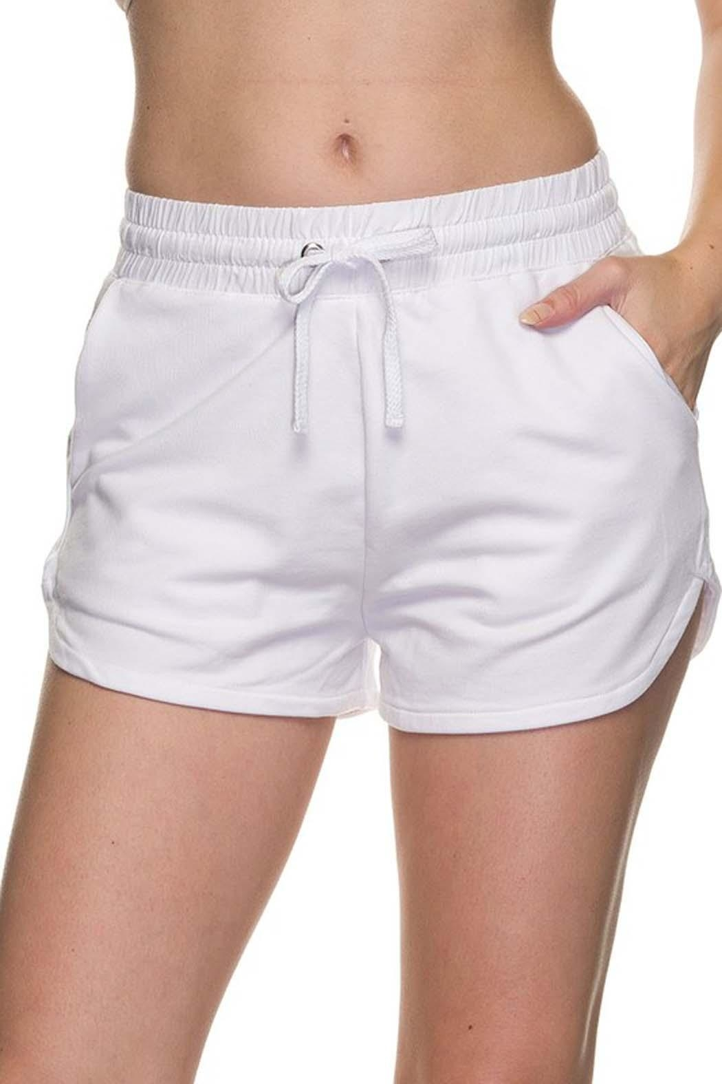 New Mix French Terry-Cloth Short - Front Cropped Image