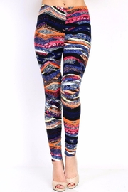 New Mix Fun Striped Leggings - Product Mini Image