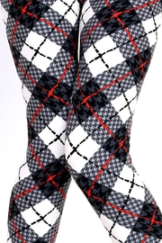 New Mix Houndstooth Plaid Print - Other