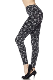 New Mix Illusion Print Legging - Product Mini Image