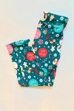 Shoptiques Product: Jolly Snowman Leggings