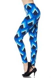New Mix Jr-Shell Print Legging - Front cropped