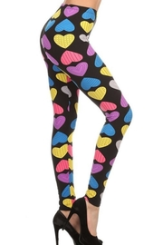 New Mix Multi-Heart Leggings - Front cropped