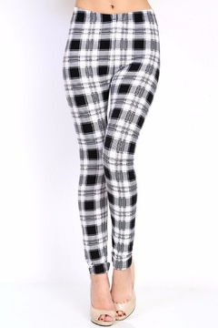 Shoptiques Product: Plaid Print Leggings